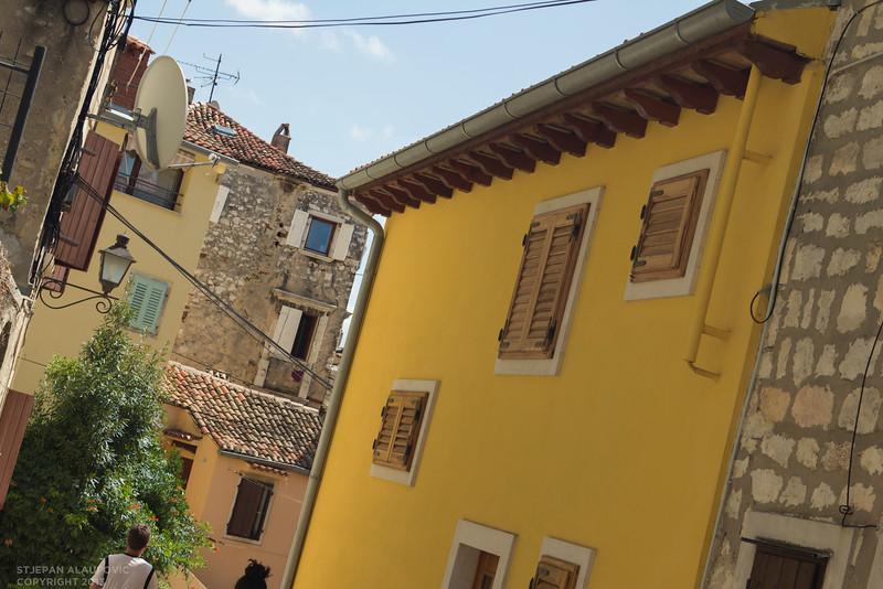Walking through Rovinj