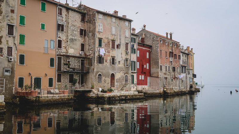 Rovinj was part of the Venetian Empire, so parts of it look like Venice.