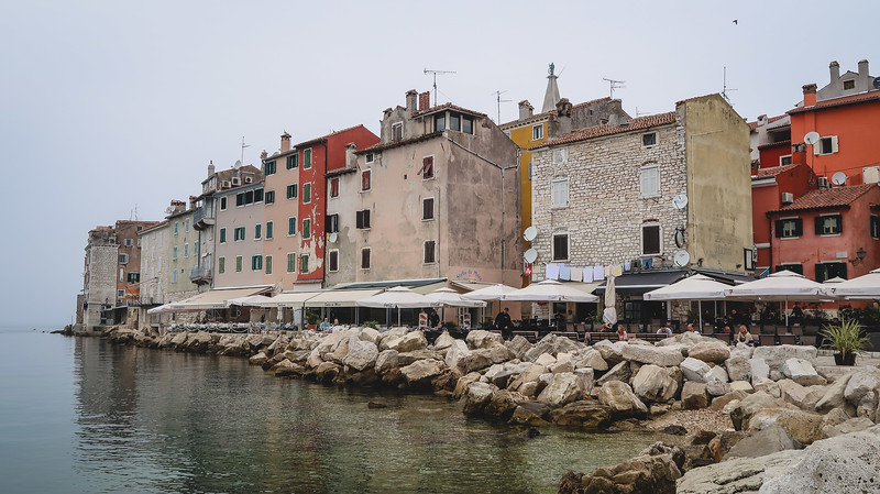 Rovinj looks a bit like Venice because it was part of the Venetian Empire.
