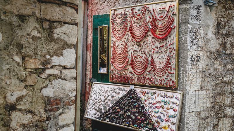 Jewellery in Rovinj