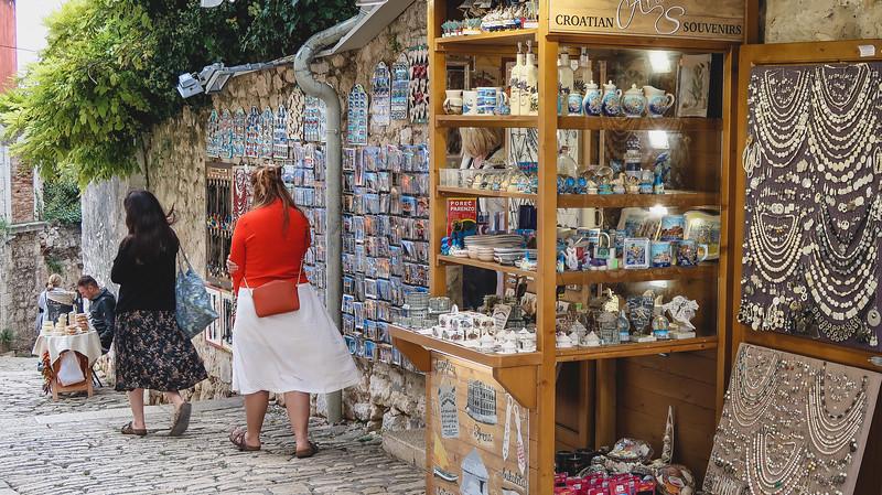 Jewellry shops in Rovinj