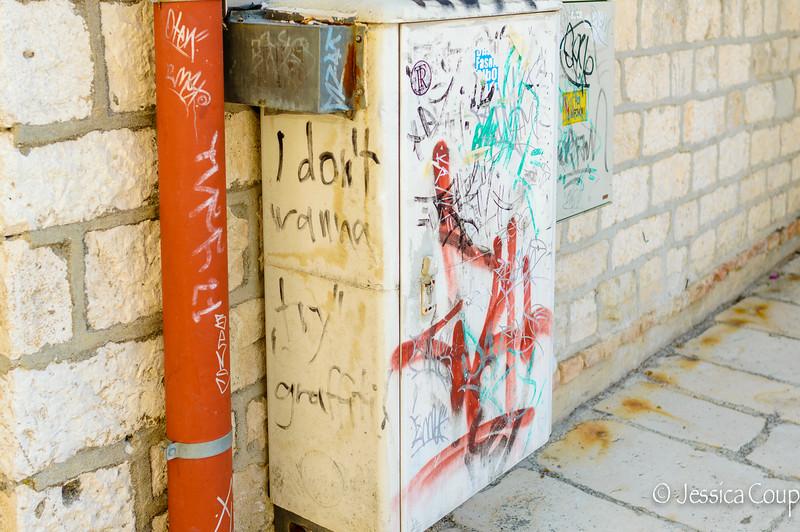 I Don't Wanna Try Graffiti