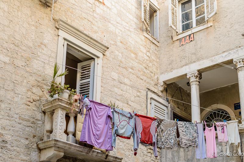 Laundry Day in Split