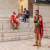 Santa and Gladiators