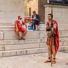 Santa and Gladiators