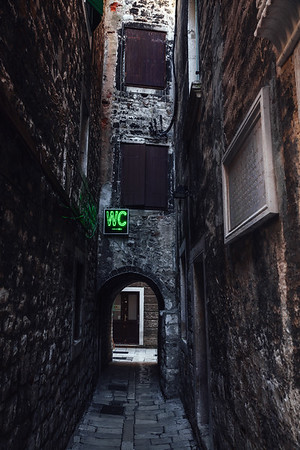 Street in Split, Croatia