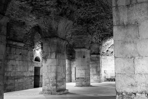 Pillars of Diocletian's Palace, Split