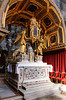 The altar of the Cathedral of St. Dominus in Split, Croatia.