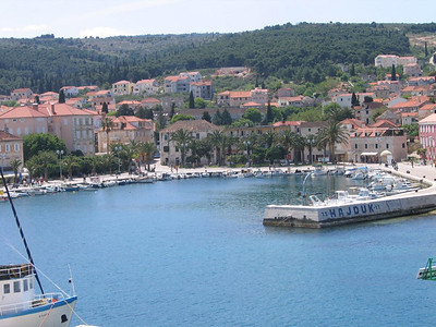 Supetar harbor