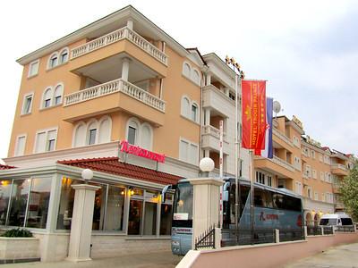Hotel Trogir Palace first night in Trogir