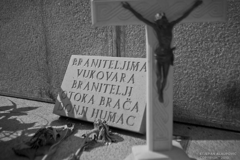 Vukovar Cemetary Graves
