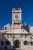 The city Watch Tower and clock tower in Zadar, Croatia.