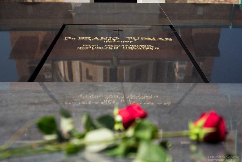 President Franjo Tudman's Grave
