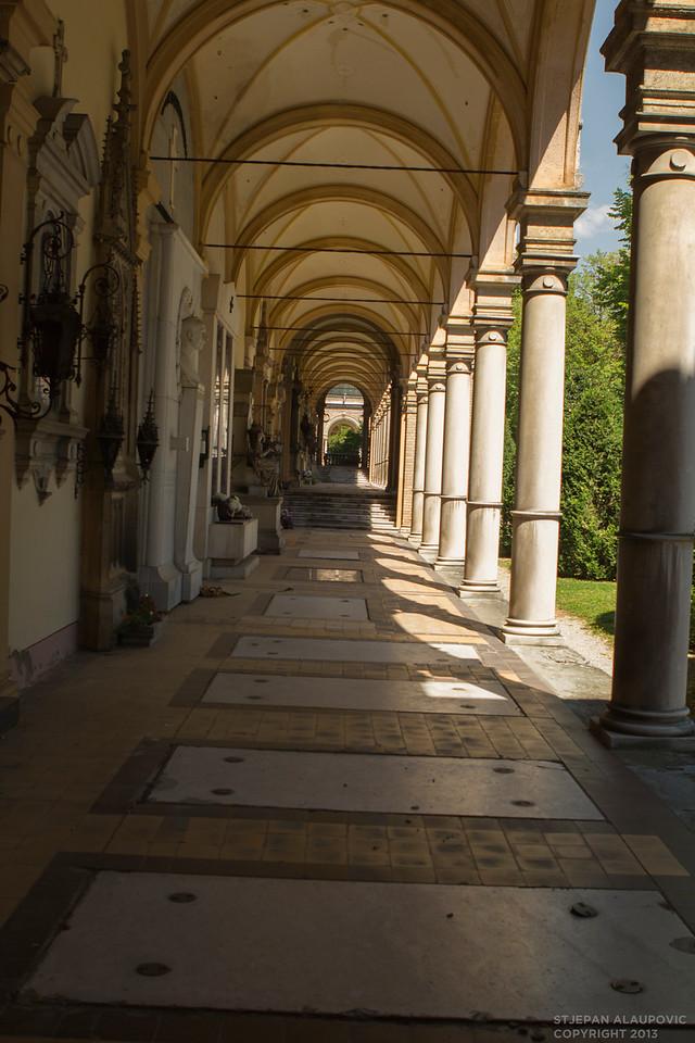 Mirogoj Cemetary Archway