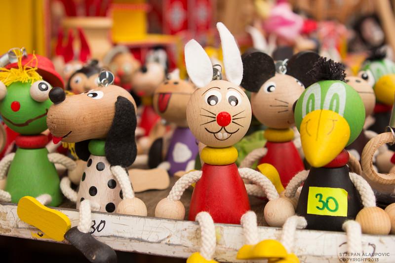 Toys at Dolac Market