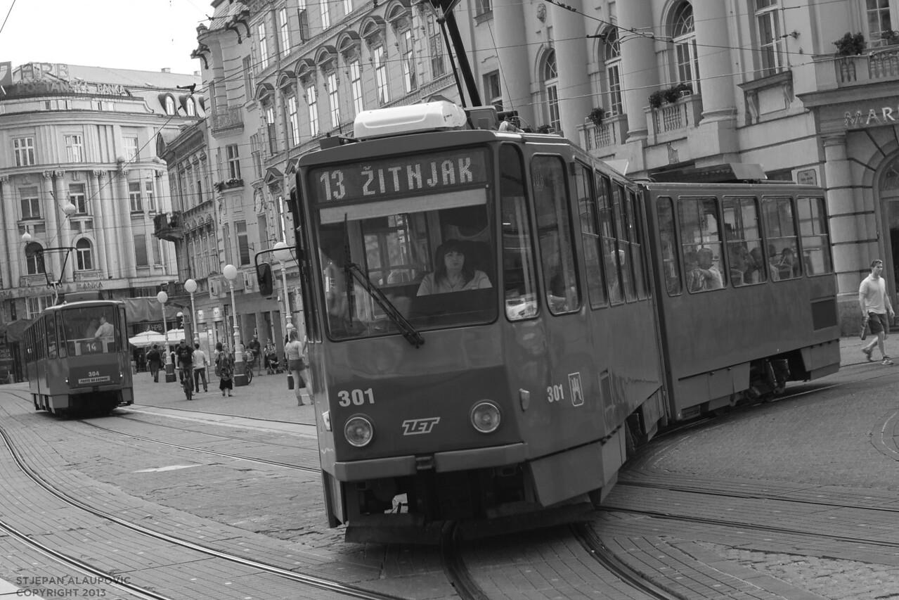 Zagreb Zitnjak Tram