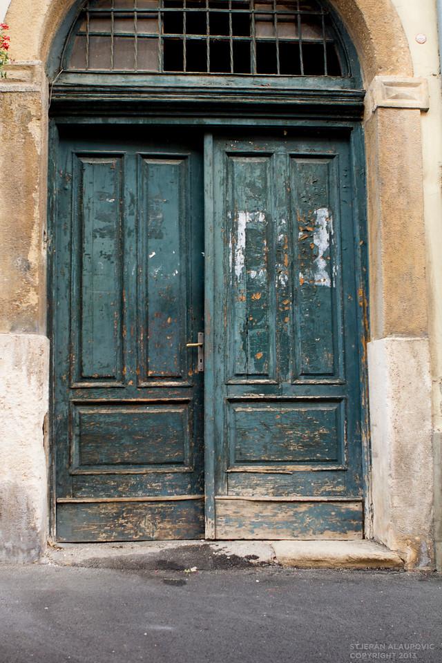 Old Doors near St. Marko Church