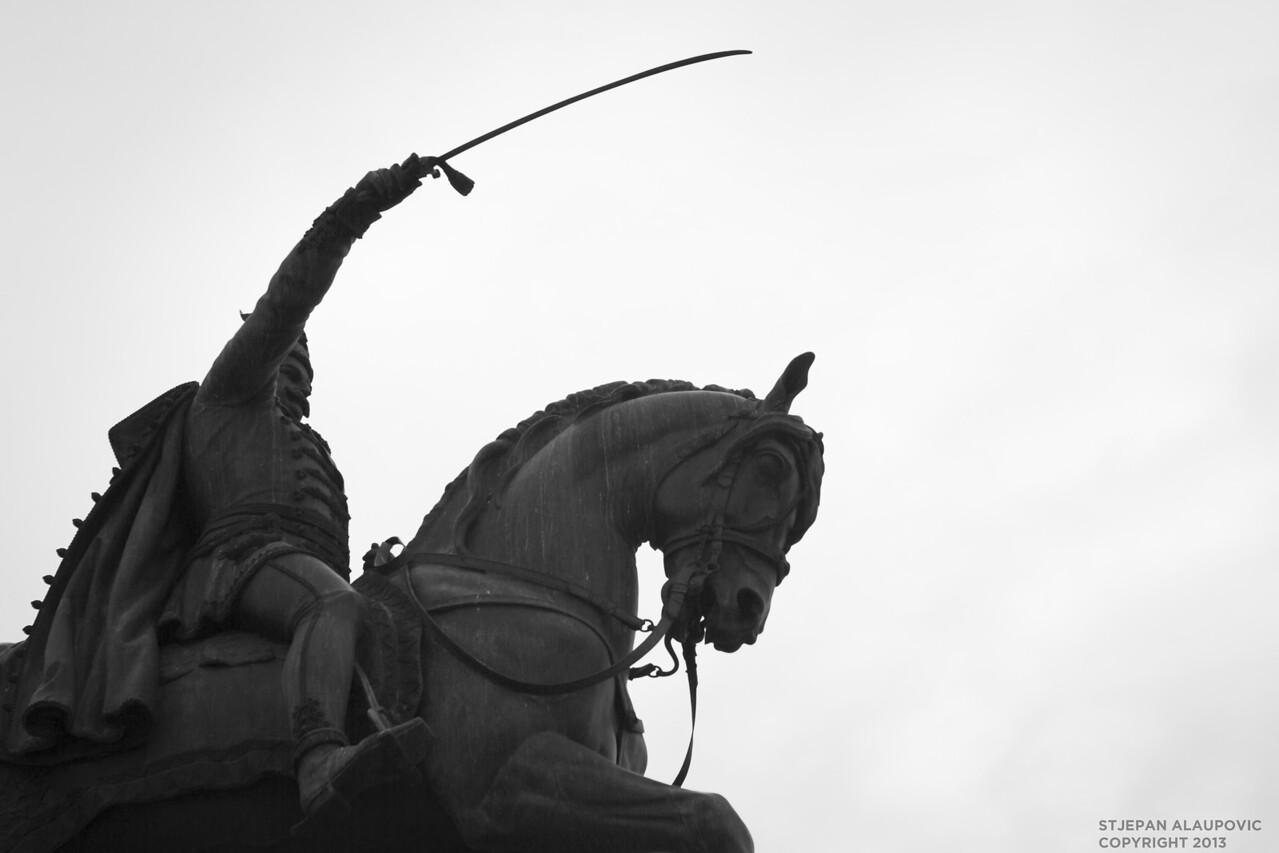 Ban Jelecic Statue