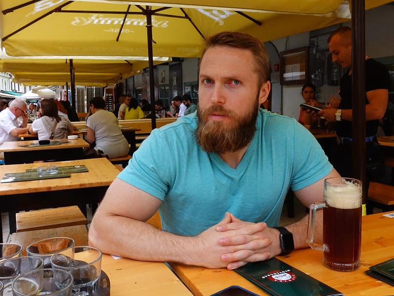 David in Zagreb, Croatia