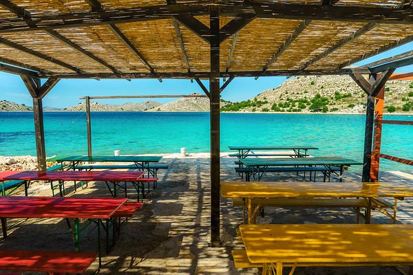 Fisher restaurant in the national park Kornati