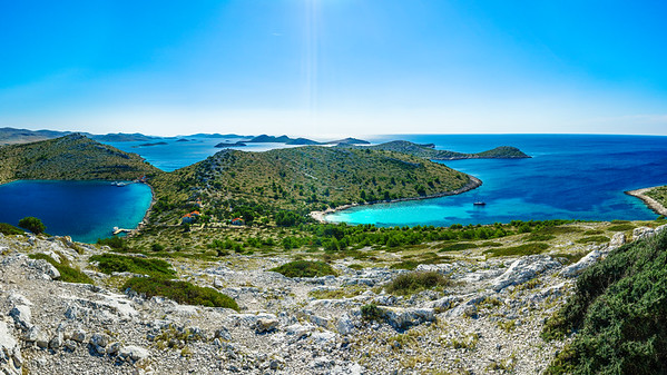 Panorama of Kornati National Park