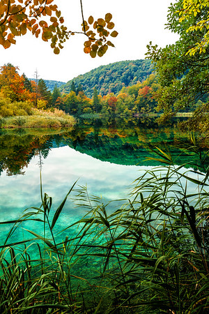 Fall in plitvice national park