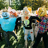 Volunteers at Crocker Elementary install hundreds of scarecrows in an attempt to break the Guinness Book of World Records for most scarecrows in one place. SENTINEL & ENTERPRISE / Ashley Green