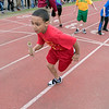 The 105th running of the Fitchburg Schools Relays where held at Crocker Field Thursday, May 16, 2019. Athletes from Fitchburg Public Schools run against one another (school vs. school, class vs. class). SENTINEL & ENTERPRISE/JOHN LOVE