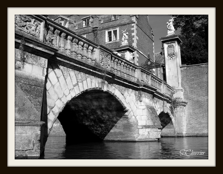 Kitchen Bridge, on the River Cam, Cambridge, England