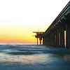 Scripps Pier at Sunset, La Jolla, California
