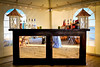 One of the many additions is this great looking antique mirror bar!
