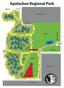 Official 5Km course map from FSU Coach Karen Harvey. East is up, north is left! PDF download here.