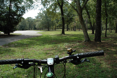 Ahhhh, nice unobstructed grass. No cars, spikes ok, distance unchanged.