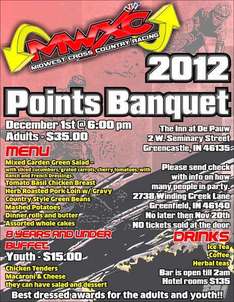 2012 MWXC Banquet