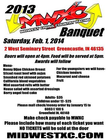 2013 MWXC Banquet
