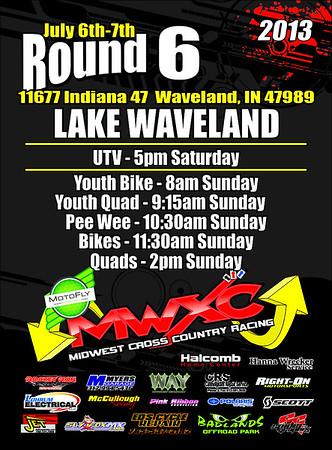 2013 Round #6 Lake Waveland