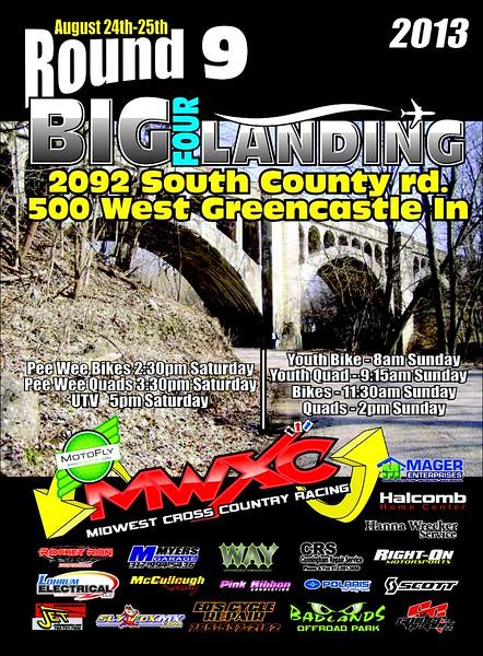 2013 Round #9 Big Four Landing