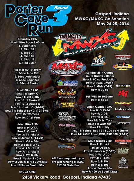 2014 Round #3 Porter's Cave Run