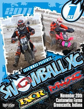 Snowball XC #1 November 20 2011