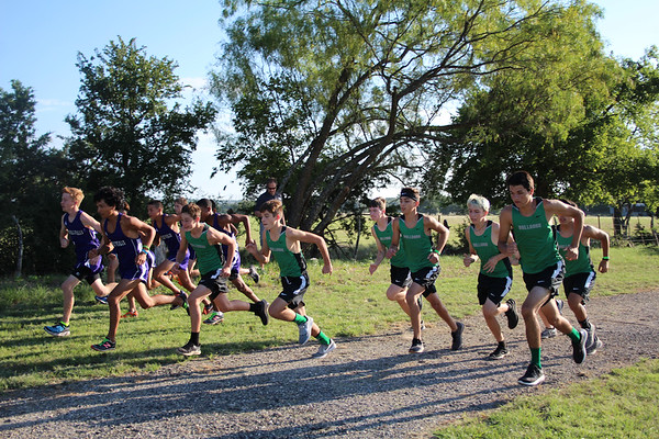 Boys Cross Country @ Haley Nelson Park