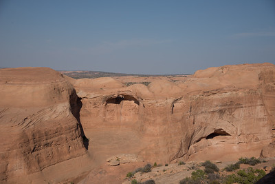 Basin in front of Delicate Arch