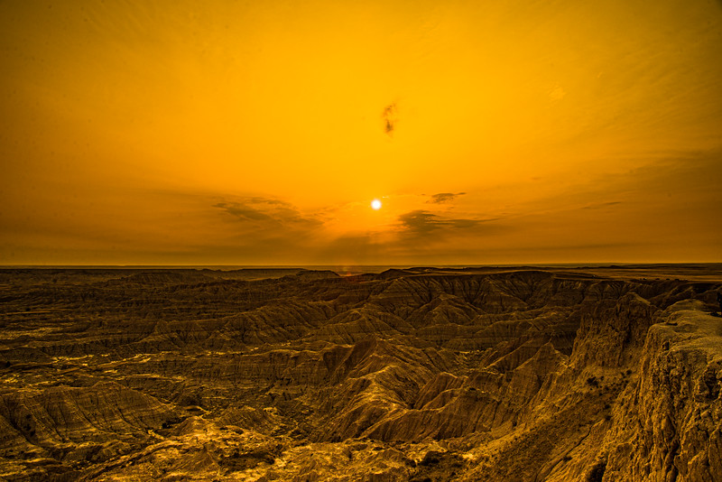 Sunset at Pinnacles Point