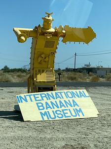 Internaional Banana Museum in the Desert