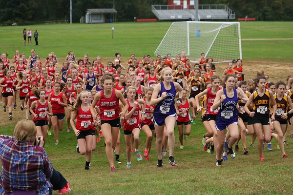 Cross-Country meet at Mount Greylock - 100418
