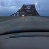 The Illinois River bridge, before Chicago mayhem
