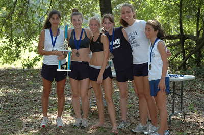 1st overall Girls' team, Maclay.
