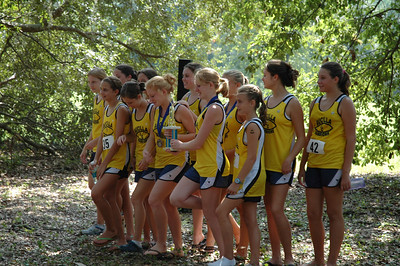 3rd overall Girls' team, Aucilla Christian.