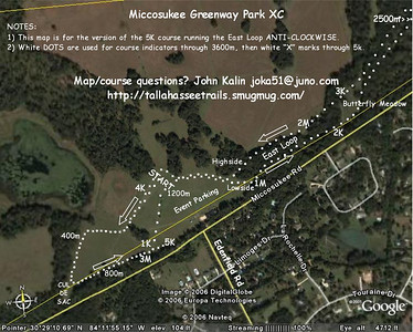 Course map for the meet. For an every 50m tour of the course, see this:  http://tallahasseetrails.smugmug.com/gallery/1970316