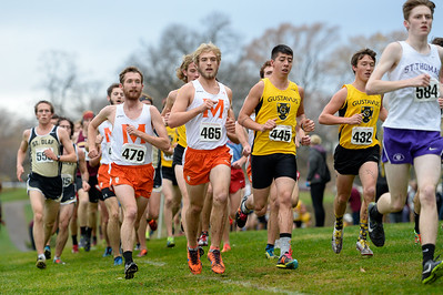2015 - Macalester Cross Country runs at MIAC Conference Meet at Como Golf Course.   -- Copyright Christopher Mitchell / SportShotPhoto.com