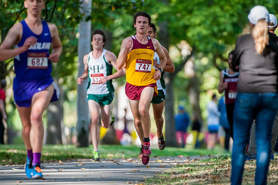 NCAA Men's Cross Country: Willamette University hosts the Charles Bowles Willamette Invitational at Bush's Pasture Park in Salem, Oregon on October 3rd, 2015 (Photos: Christopher Oertell/Willamette Athletics)